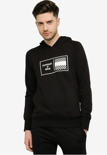 Superdry 黑色 Train Core Hoodie - Sports Performance 30440AA618E013GS_1