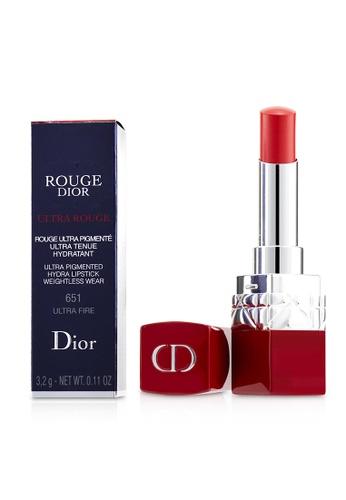 christian dior CHRISTIAN DIOR - Rouge Dior Ultra Rouge - # 651 Ultra Fire 3.2g/0.11oz 299E3BEC59081CGS_1