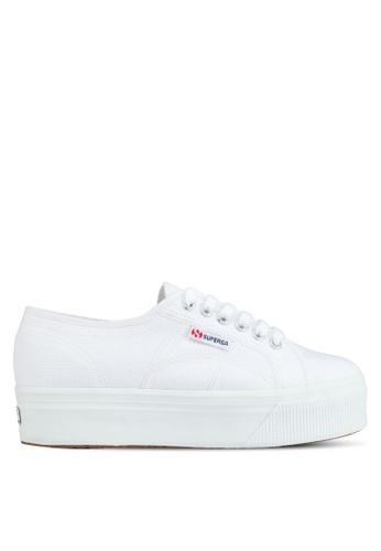 Superga white COTW Linea Up And Down Sneakers E2B30SHA0ABE1BGS_1