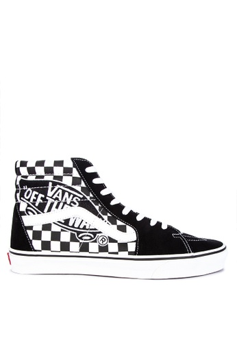 Shop VANS Vans Patch SK8-Hi Sneakers Online on ZALORA Philippines 52d6e2528