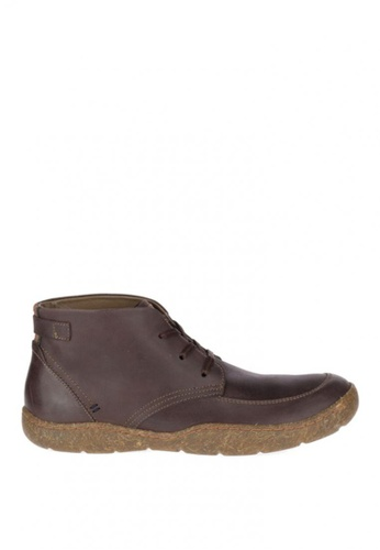 Hush Puppies brown Finnian Sway Boots 9A6A3SH1700656GS_1