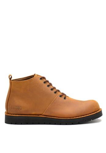 Brodo brown BRODO - Sepatu Pria Boots Choco Tan BS 19A66SHF65B51DGS_1