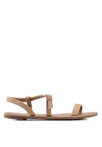 Rubi brown Everyday Bella Wrap Sandals EB643SH1C42D98GS_1