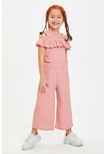DeFacto pink Girl Knitted Set 8A785KABA20159GS_1