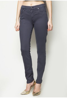Midrise Skinny with Contour Waist Band Jeans