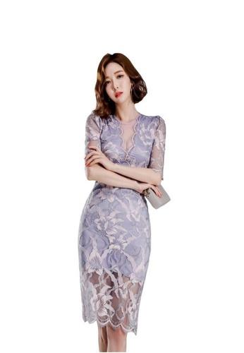 8db8ddc74e02e New Slim Sexy Lace Party Dress