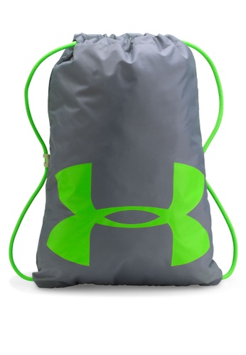 Under Armour grey OZSEE Elevated Glow Backpack UN337AC0RANSMY_1