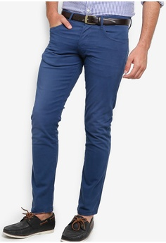 b258f1ba8 Polo Ralph Lauren blue 5 Pocket Strecth Denim Jeans DE63EAA1536456GS 1