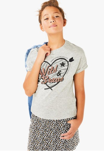 MARKS & SPENCER grey Wild and brave T CFDB7KA6EC86A9GS_1