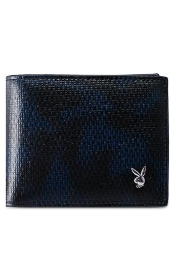 Playboy blue Rfid Blocking Bi-Fold Wallet 1D308AC6ADFF2CGS_1