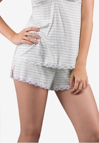 Dorina grey Romy Shorts FE88BAA7EBD34FGS_1