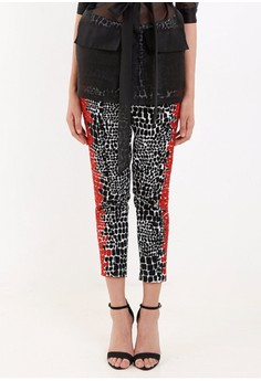 [PRE-ORDER] Beaded Cigarette Pants