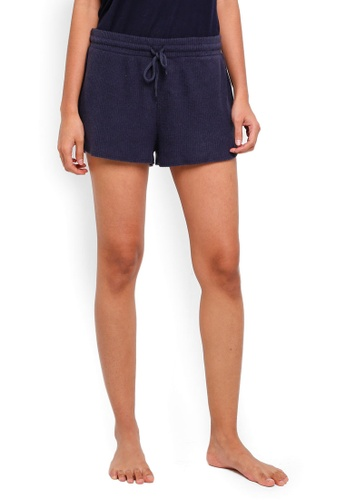 Cotton On Body blue Super Soft Lounge Shorts 66A5EAAF451BAEGS_1