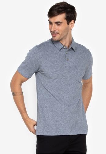 2527bd005192e5 Shop Maldita Man Mélange Polo Shirt Online on ZALORA Philippines