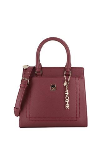 SEMBONIA red Berrylicious Satchel Bag 97D03AC9377772GS_1