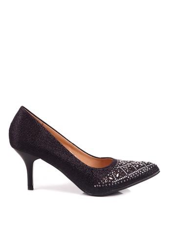CLARETTE black Clarette Heels Raphaelle Black CL076SH90QMFID_1
