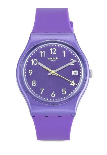 Swatch purple Purplazing Watch 42E8BAC042131EGS_1