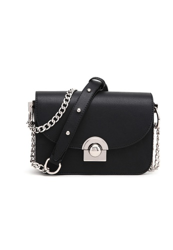 Lara black Chain Cross-body Bag DAD44AC630553DGS_1