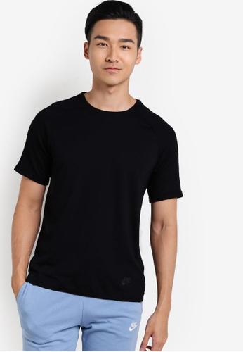Nike black Men's Nike Sportswear Bonded Top NI126AA10YNHMY_1