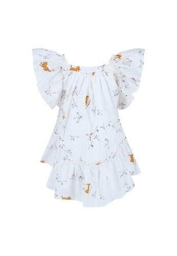 Viva Vida Kids white Valentina Dress Storks 0CA35KAAB8775BGS_1