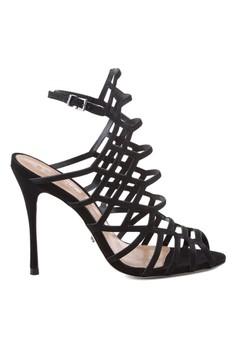 Schutz Juliana High Heel Caged Sandals