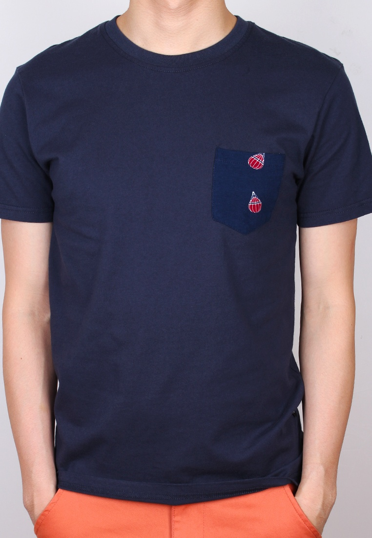 Air shirt Moley Pocket Print T Navy Balloon wZqz7rwx8