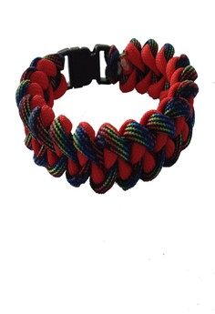 Paracord Flaggy Piranha Bracelet