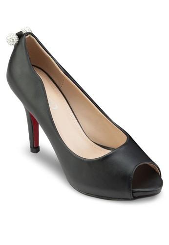 esprit暢貨中心小飾品露趾高跟鞋, 女鞋, 鞋