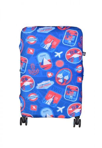 BG Berlin blue 006 Luggage Cover Medium 856F7AC915F27BGS_1