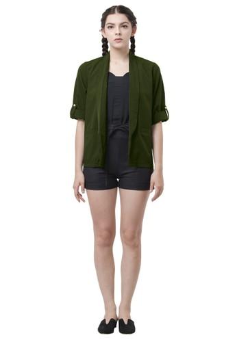 Floe Fashion green Freya Outer Army 8916DAACDD6878GS_1