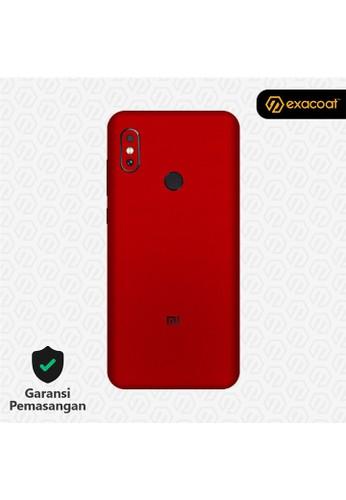 Exacoat Xiaomi Redmi Note 6 3M Skins True Colors - Lust Red 14381ES3AC0B80GS_1