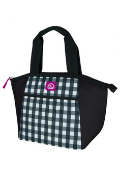 Gingham Black Mini Essential Tote