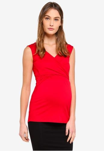 aade67c6eb01d Buy Envie De Fraise Maternity Fiona Tank Top Online on ZALORA Singapore