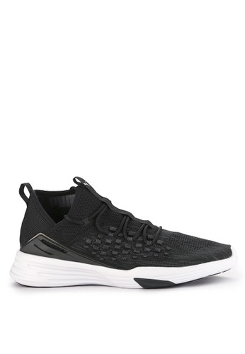 Puma black and multi Mantra Fusefit Shoes 7AA03SHE3BE44AGS_1