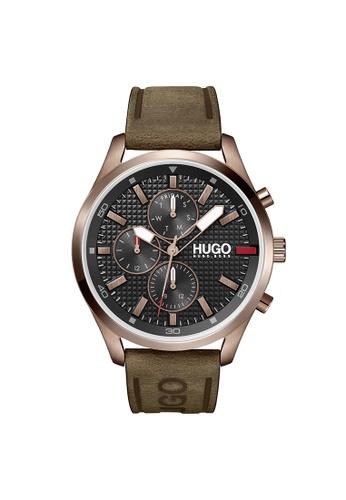 Hugo Boss black HUGO Chase Black Men's Watch (1530162) 87B79ACBFAB04AGS_1