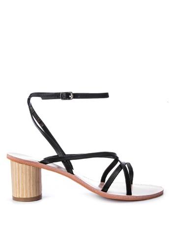 Primadonna black Strappy Heels A35AASH2F26565GS_1