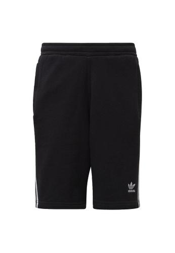 ADIDAS black adidas Originals 3-Stripes Shorts BE293AAAE18F94GS_1