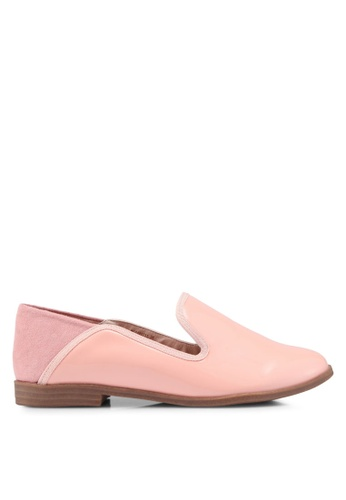 Nose pink Suede Slip-On Loafers D3AD5SH9EF8526GS_1