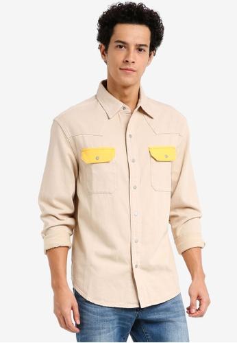 Calvin Klein multi Archive Western Shirt - Calvin Klein Jeans 4B07DAAB4934F9GS_1