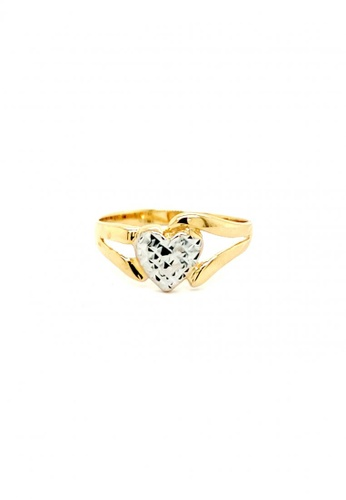 KARAT WORLD gold 18Kt Yellow and White Gold Ladies Ring 0C179ACA8D08A1GS_1