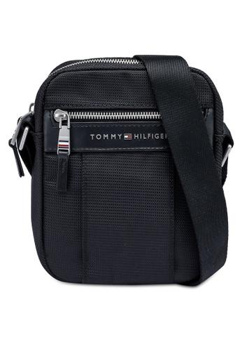 Tommy Hilfiger black Elevated Nylon Mini Sling Bag 798FAAC7F36874GS_1