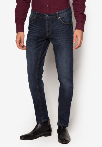 !Solid blue Joy Stretch Jeans SO701AA09DBUMY_1