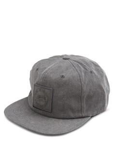 Washed Twill Strapback Cap