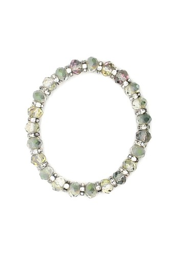 Istana Accessories Gelang Revina Crystal Bracelet Fashion - Green