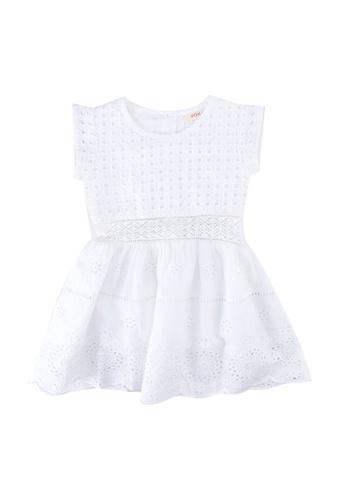 FOX Kids & Baby white Baby Girl Dress F1A5DKAD4B61F7GS_1