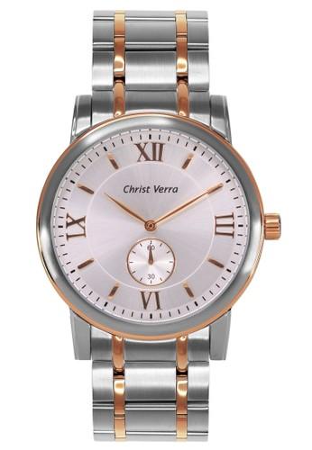 Christ Verra silver Casual Women's Watches CV 52049L-14 SLV/SR E0698AC8AB88D0GS_1