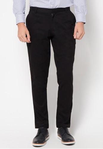 Cotton Twill Long Pants