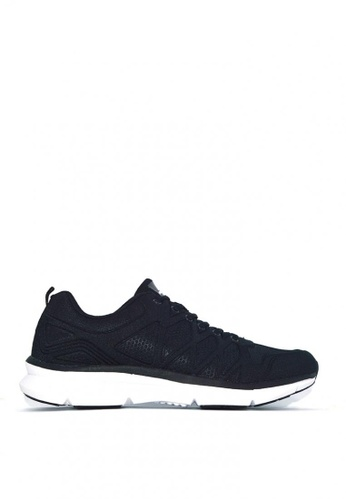 ACCEL black and white RN Tristan Running Shoes D6D4FSH93A5D4CGS_1