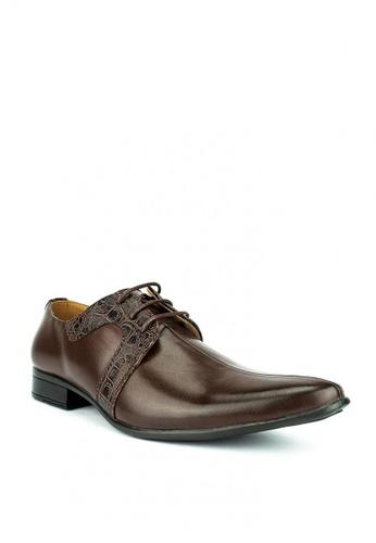 Mario D' boro Runway brown Ryan Formal Shoes C0E6FSH46B43F6GS_1