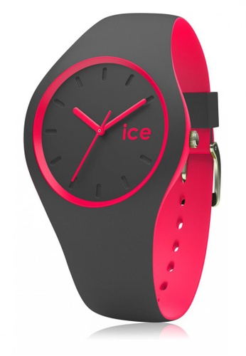 Ice-Watch grey ICE duo - Anthracite Pink - Medium - 3H IC770AC30MYRHK_1